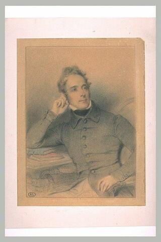 Portrait de Lamartine