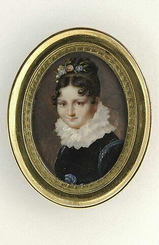 Portrait de femme à la collerette
