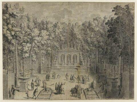 Bosquet de l'Arc de Triomphe à Versailles