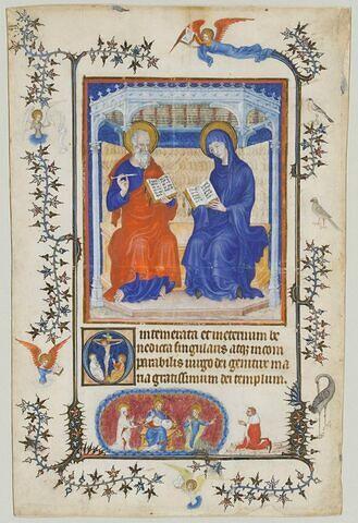 La Vierge et saint Jean l'évangéliste