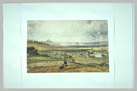 Vue de la vallée de Coucy prise de Follembray