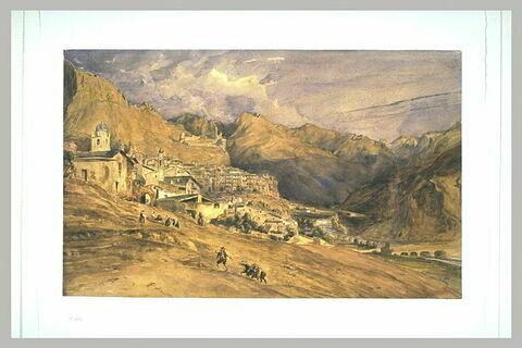 Vue de la corniche : Rocca Brune