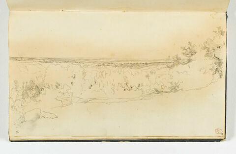 Vue panoramique de la vallé de l'Orne