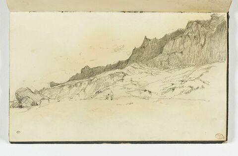 Les Vaches noires, falaises de Houlgate