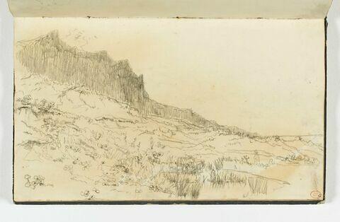 Dunes et falaises à Houlgate
