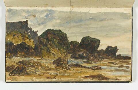 Falaises et rochers aux Vaches-Noires, à Houlgate