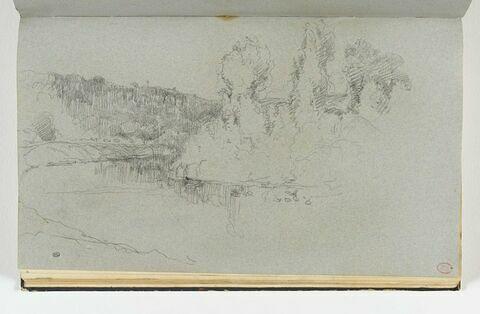Les bords de l'Orne près de Pont d'Ouilly
