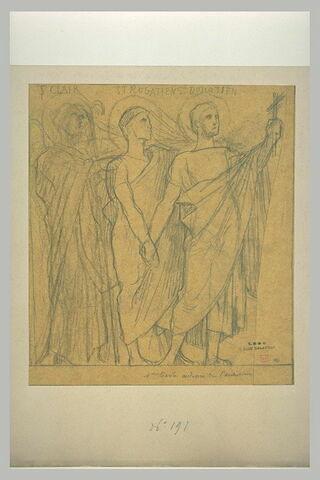 Saint Clair, saint Donatien et saint Rogatien