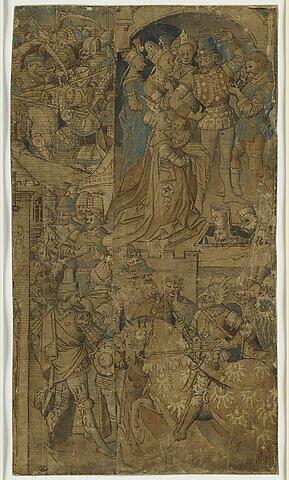 Achille devant sa tente, Hector et Andromède, Pâris tuant Palamède