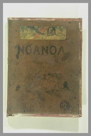 Décor de couverture de Noa-Noa, voyage de Tahiti