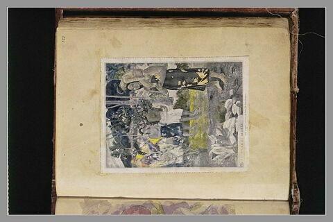 Reproduction recolorée du tableau : IA ORANA MARIA
