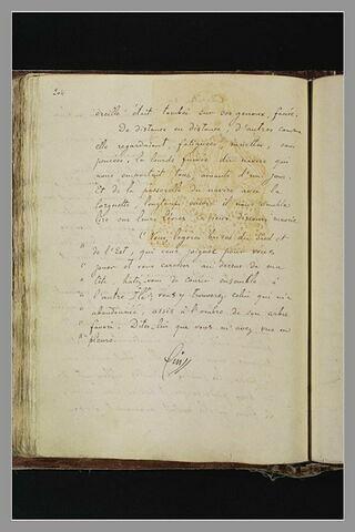 Notes manuscrites : fin