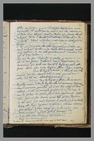 Notes manuscrites