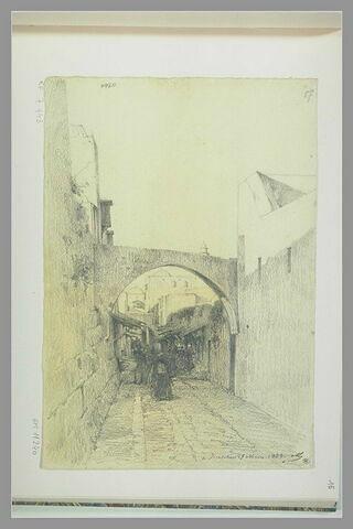 Une rue de Jérusalem