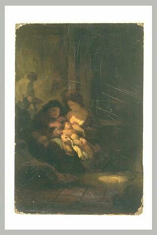 La Sainte Famille dite le Ménage du Menuisier