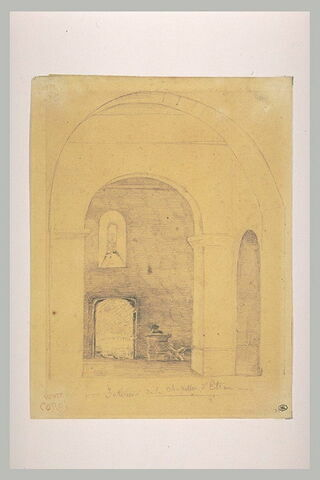 Intérieur de la chapelle d'Etran