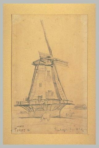 Un moulin à vent à Dunkerque