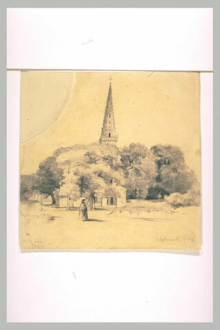 Vue du clocher de l'église d'Hazebrouck