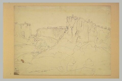 Ravin et collines des environs de Civita Castellana