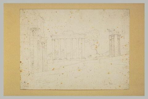 Vue du Forum romain