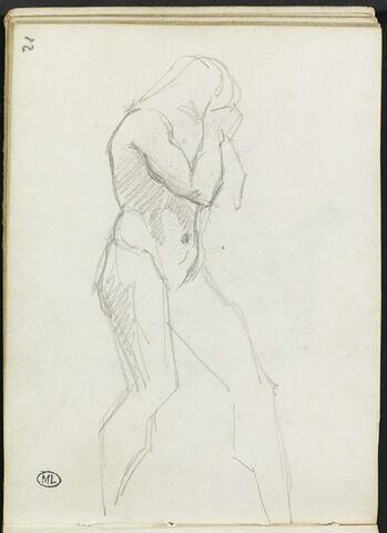 Croquis d'une femme nue