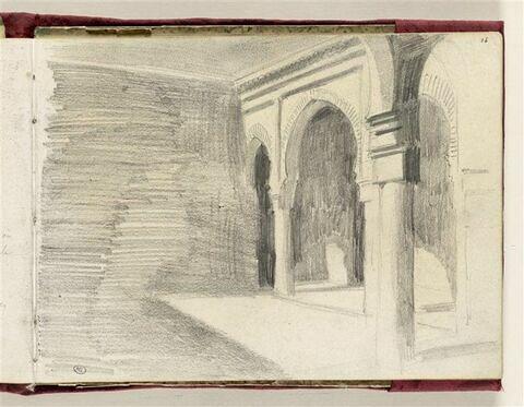Cour intérieure mauresque