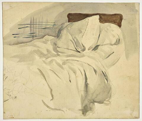 Un lit défait