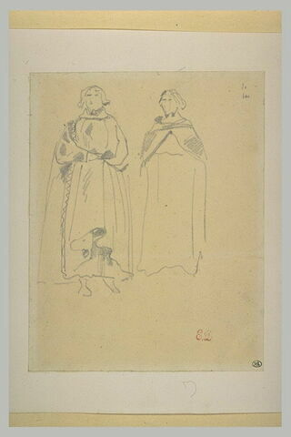 Seigneur du Moyen-Age, et moine