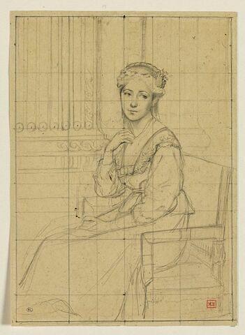 Portrait de la soeur de l'artiste