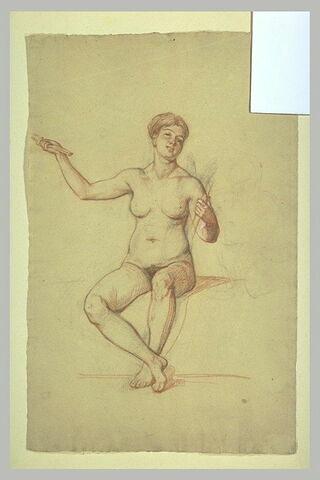 Etude pour la figure d'Erato