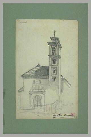 Façade d'église à Grenade