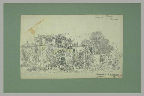 Jardin de la chartreuse de Grenade
