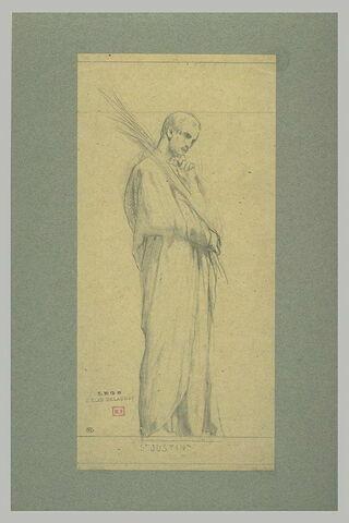 Portrait de saint Justin