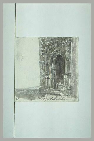 Portail d'église Renaissance