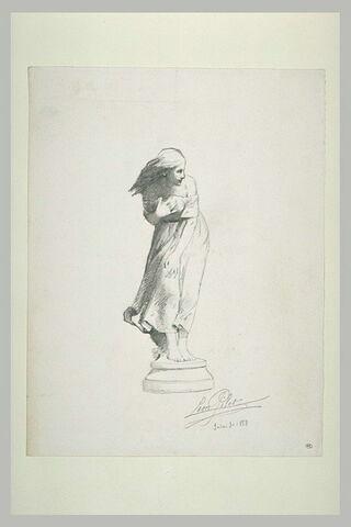 Statue de jeune fille