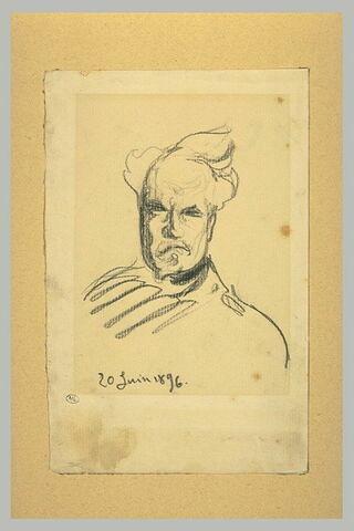 Portrait d'Henri Rochefort, en buste, vu de face