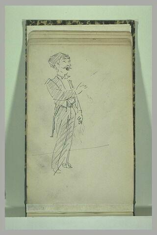 Un personnage caricaturé