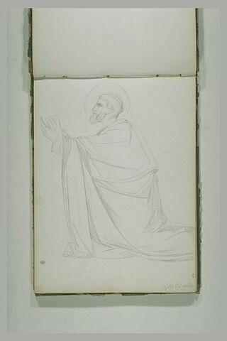 Saint Pierre agenouillé