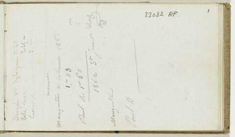 Note manuscrite