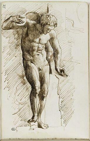 Académie d'homme nu