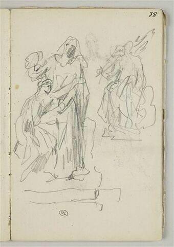 Etudes de statues