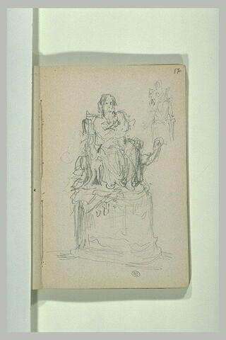 Projet de monument à Balzac