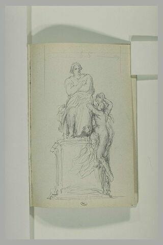 Projet pour un monument à Balzac