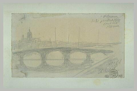 Vue de l'Arno et de Florence