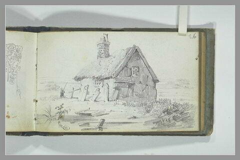 Cabane au toit de chaume