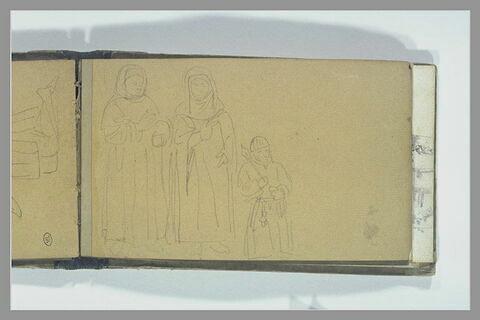 Trois figures du Moyen Age