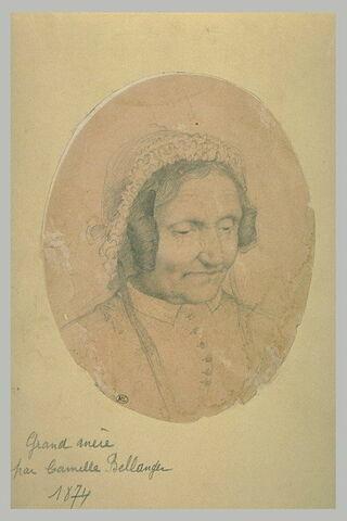 Portrait de Luce Eugénie Arnoul, grand-mère de l'artiste