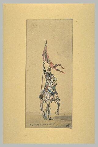 Jeanne d'Arc à cheval, étude pour la statue de la place des pyramides