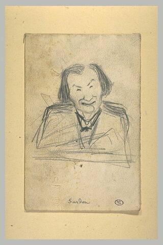 Caricature de Victorien Sardou