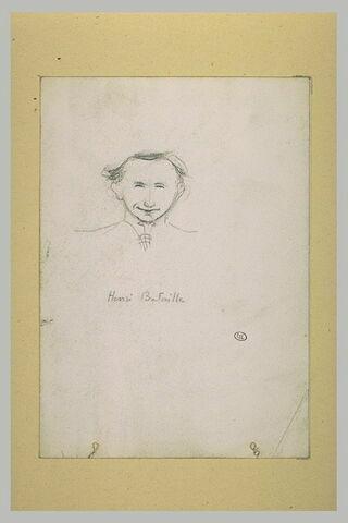 Caricature d'Henri Bataille